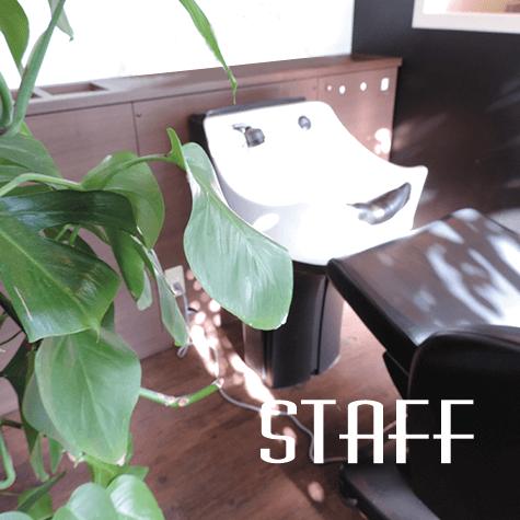 越谷市の美容室d.rのスタッフ